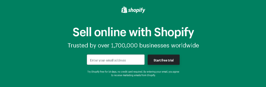Shopify free Trial - Shopify for Restaurants