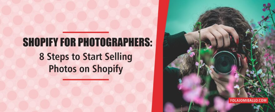 Shopify for Photographers
